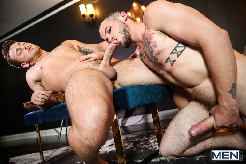 Colton Grey and Trevor Long hardcore ass fucking in Home Service
