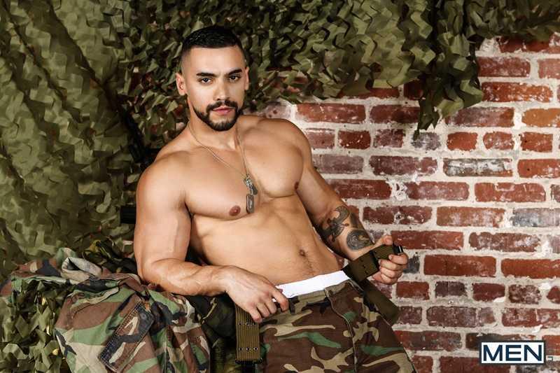 Military Dudes Orgy