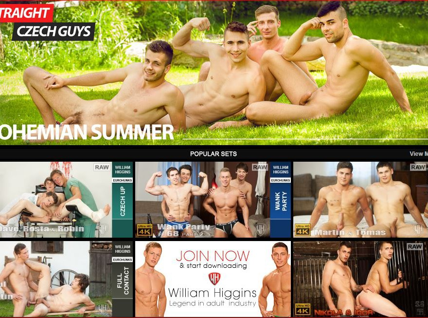 Gay porn site William Higgins wins 5 star review