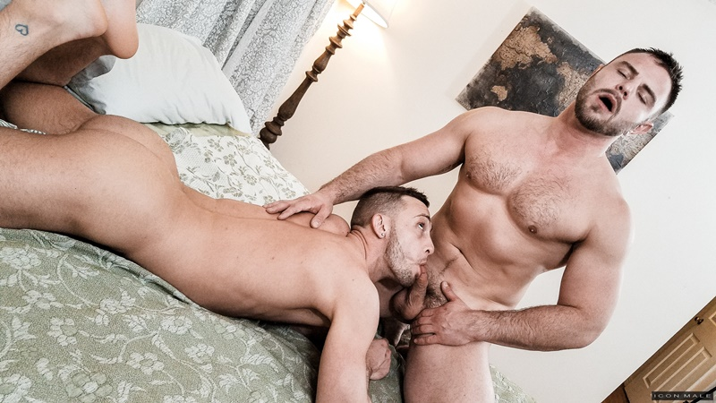 Straight Nick Sterling can't get enough of Billie Ramos' tight asshole and throbbing cock