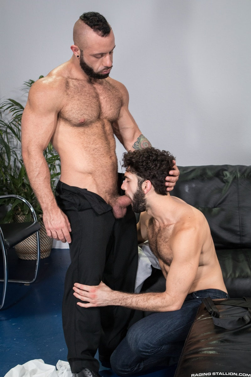 Tegan Zayne's hairy man hole takes a long and frenzied pounding from Eddy Ceetee's huge dick