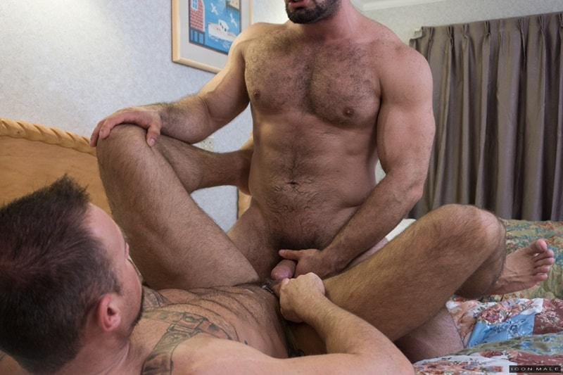 Muscle Dad Fuck Son