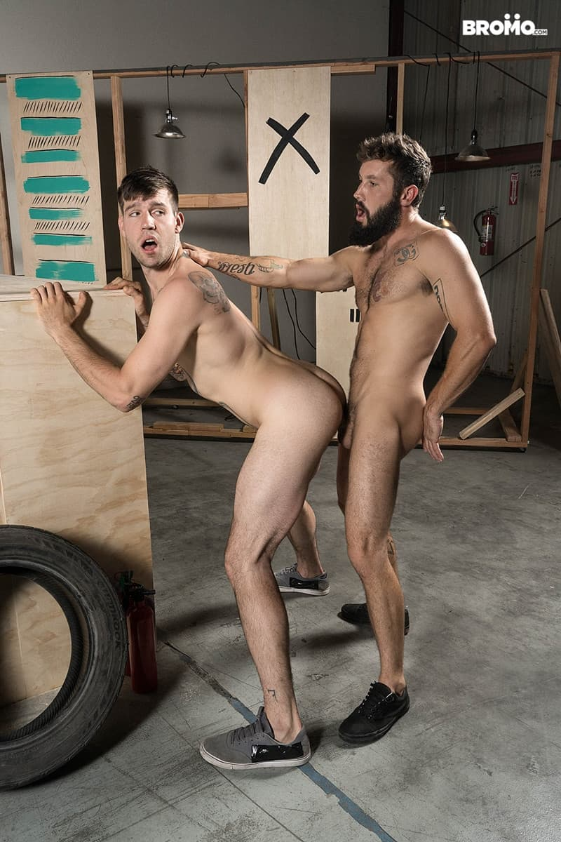 Men for Men Blog Jeff-Powers-hot-cock-fucks-Buck-Richards-tight-asshole-Hairy-bearded-muscle-hunk-Bromo-011-gay-porn-pictures-gallery Hairy bearded muscle hunk Jeff Powers hot cock splits Buck Richards' tight asshole Bromo