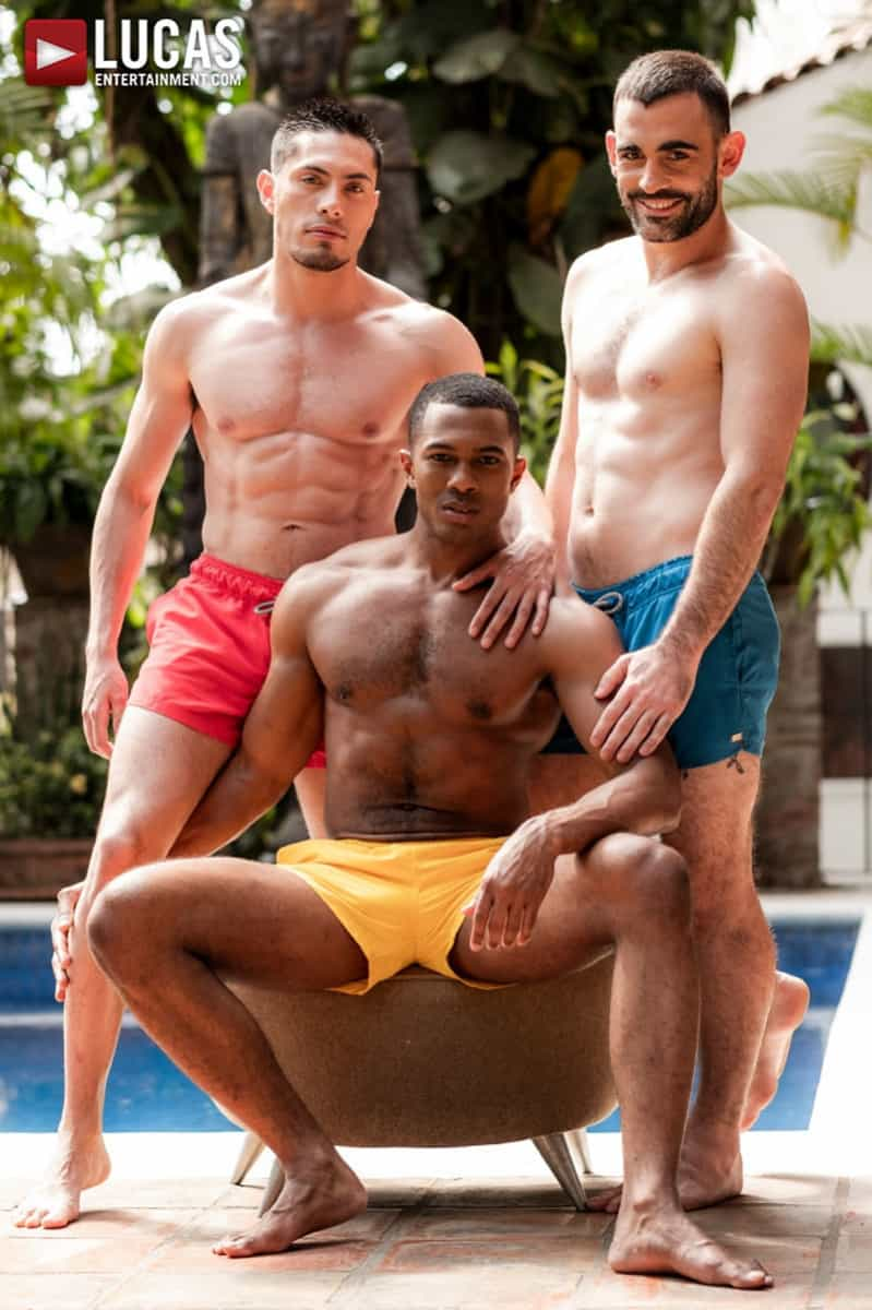 Men for Men Blog Ashton-Labruce-Sean-Xavier-Boy-Friend-Max-Arion-anal-fucked-huge-11-inch-cock-LucasEntertainment-002-gay-porn-pictures-gallery Ashton Labruce sits watching and stroking while BF Max Arion fucks black beauty Sean Xavier hot asshole Lucas Entertainment