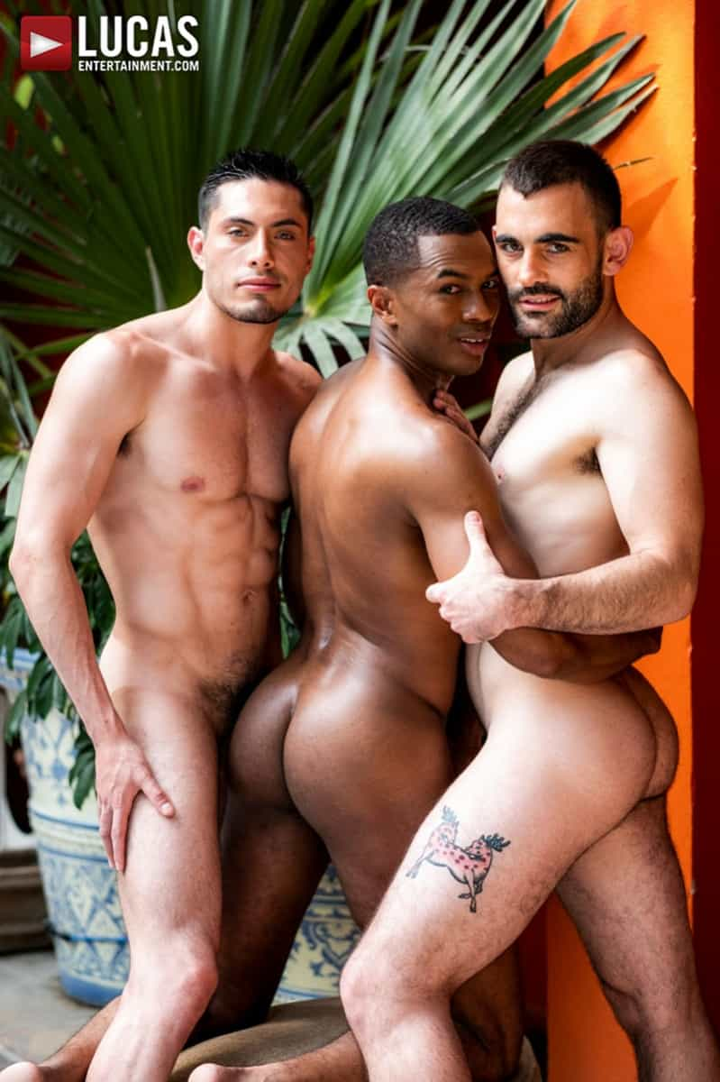 Men for Men Blog Ashton-Labruce-Sean-Xavier-Boy-Friend-Max-Arion-anal-fucked-huge-11-inch-cock-LucasEntertainment-010-gay-porn-pictures-gallery Ashton Labruce sits watching and stroking while BF Max Arion fucks black beauty Sean Xavier hot asshole Lucas Entertainment