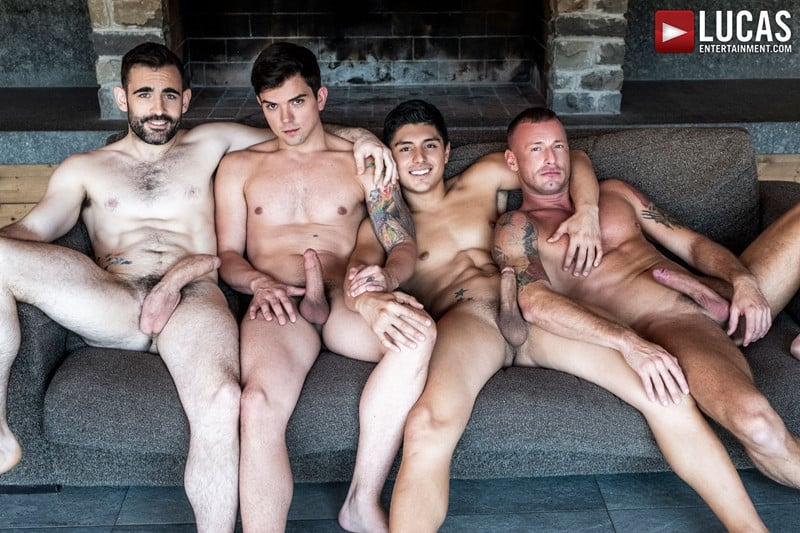 Hardcore ass fucking orgy with Dakota Payne, Ken Summers, Logan Rogue and Max Arion