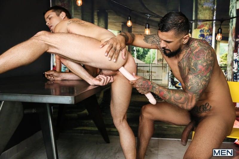 Hottie-muscle-stud-Nic-Sahara-dildo-ass-play-Boomer-Banks-thick-cock-deep-throat-Men-008-Gay-Porn-Pics