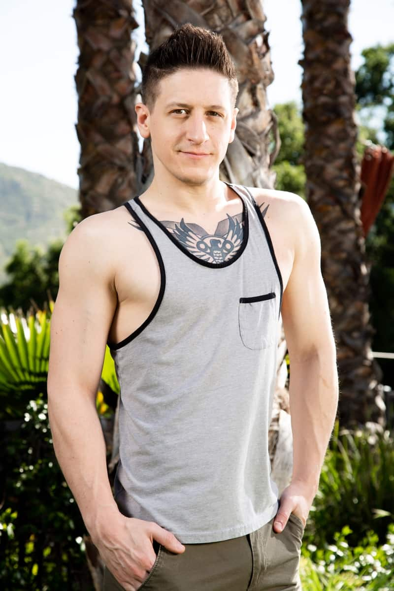 Dalton Rileys huge dick fucks Scott Finns hot bubble